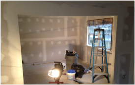 Mid water damage rebuild project in Schenectady, NY